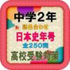 gisei morimoto - 中学2年日本史語呂合わせ歴史年号受験対策全250問 アートワーク