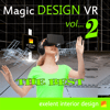 Rafal Gronowski - Magic Design VR vol2 Cardboard アートワーク