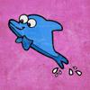 Push the Edge LLC - 魚のカラーステッカー アートワーク