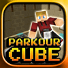 Block Games - Parkour Cube – Labyrinth Runner アートワーク