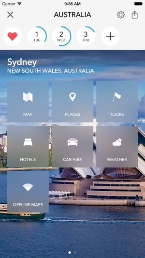 Australia   New Zealand Trip Planner  Travel Guide   Offline City     Screenshots