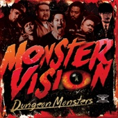 Dungeon Monsters - MONSTER VISION アートワーク