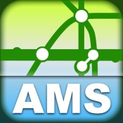 Amsterdam Transport Map -  Metro Map for your phone and tablet