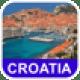 Kroatien Offline-Landkarte - PLACE STARS
