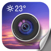 Amber Mobile Limited - Weather Camera Sticker-Photo & picture watermark アートワーク