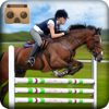 Muhammad Tahir - VR Horse Race Run & Jump - 3D Horse Jumping Stunts & Racing Game アートワーク