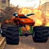Psychotropic Games - 3D Monster Truck City Rampage - Extreme Car Crushing Destruction & Racing Simulator FREE アートワーク
