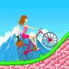 tawfiq kamal - Biker Girl Hill Climb Cycling アートワーク