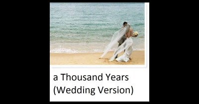 A Thousand Years (Instrumental Wedding Version) - Single ...