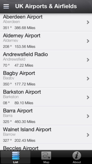 UK Airports & Airfields Screenshot