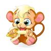 qipeng dai - 花生猴(Peanut Monkey)动态表情贴纸 アートワーク