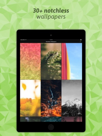 Notchless Wallpapers X Par NCN-NetConsulting GmbH