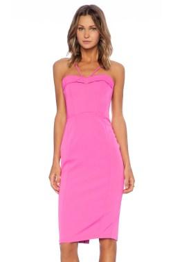 Gracious Wedding Hot Pink Bardot Pin Up Dress Hot Pink Revolve Hot Pink Dressy S Hot Pink Dress Bardot Pin Up Dress