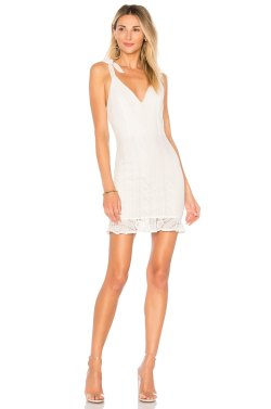 Small Of Lace White Dress