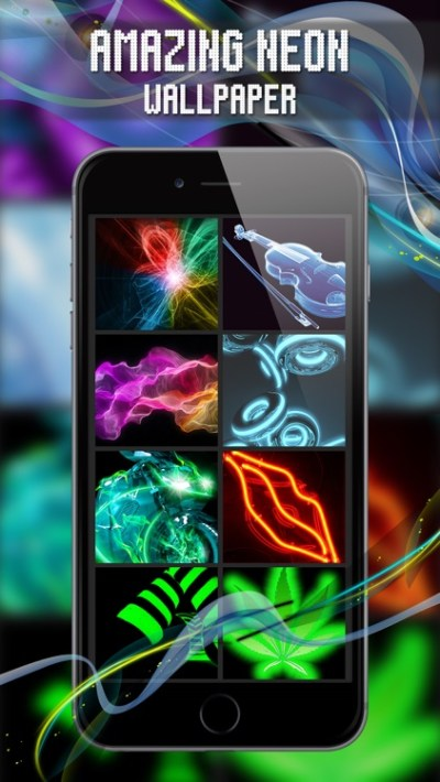 Exclusive Live Neon Wallpaper by NestedApps Limited