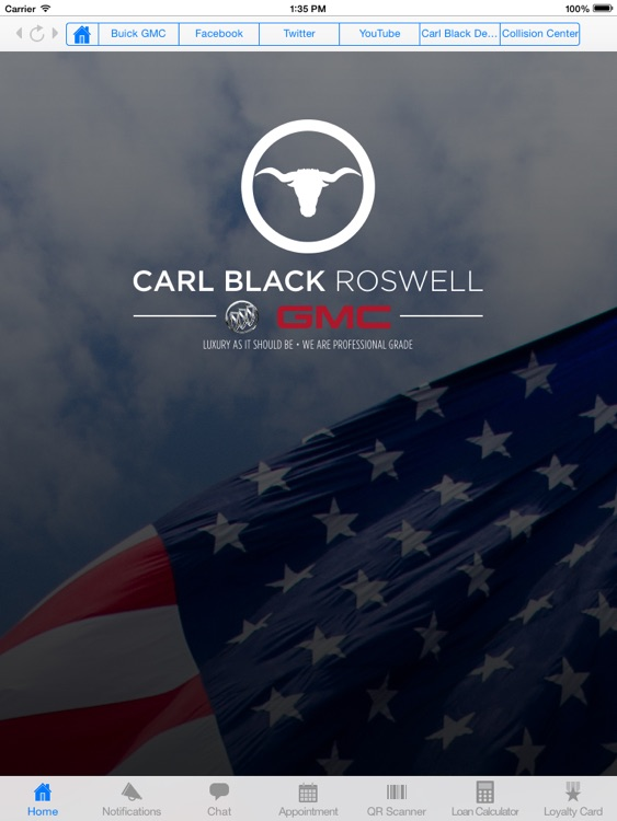 Carl Black Roswell Buick GMC for iPad by MobileAppLoader  LLC  Carl Black Roswell Buick GMC for iPad