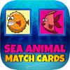 Jadet Daengsaengtien - 子供のための海の動物のマッチカードゲーム アートワーク