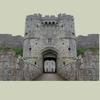 John Omerta - Castles Zone アートワーク