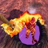 Yeisela Ordonez Vaquiro - A Flames Rope Hero - Amazing Game Rope アートワーク