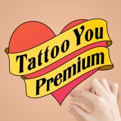 Tattoo You Premium - Use your camera to get a tattoo