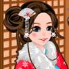 qiuxia chen - 可爱和服换装秀 - 好玩的游戏 アートワーク