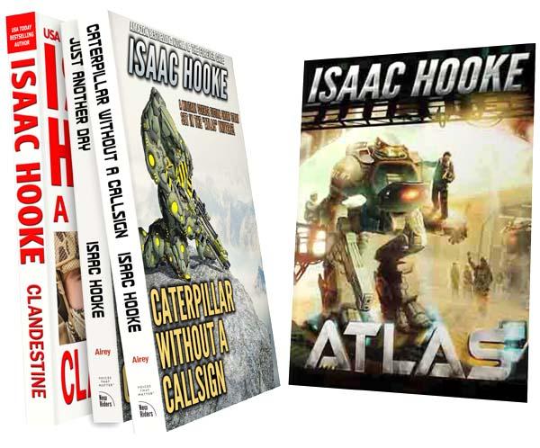 Four Free Isaac Hooke Books