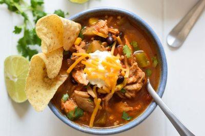 Mexican Chicken Tortilla Soup - Isabel Eats