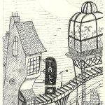 """Dibujo de la serie """"Julia y el Miedo"""""""