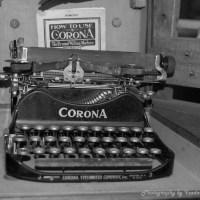 The Old Corona Typewriter