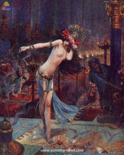 Salome by Gaston Bussiere