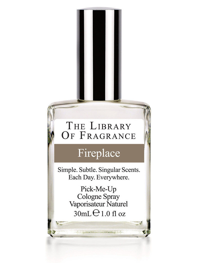 Library of Fragrance Fireplace | I Scent You A Day