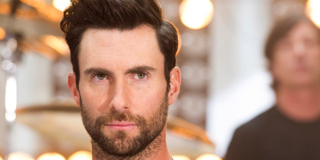 "Maroon 5 lead singer Adam Levine performs on NBC's ""Today"" show on Friday, June14, 2013 in New York. (Photo by Charles Sykes/Invision/AP)"