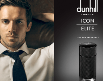 dunhill icon elite advert