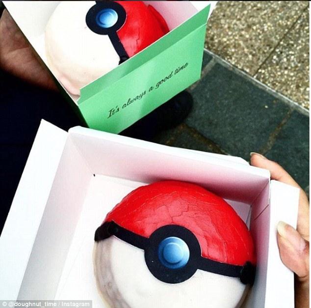 Donat Pokeball (dailymail.co.uk)