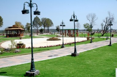 A great view of Lake View Park in Islamabad