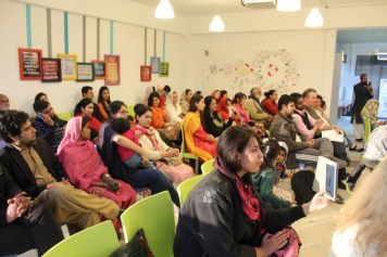 At the WECREATE Center in Islamabad.
