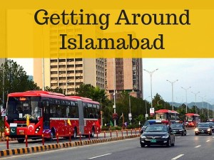 Getting around Islamabad