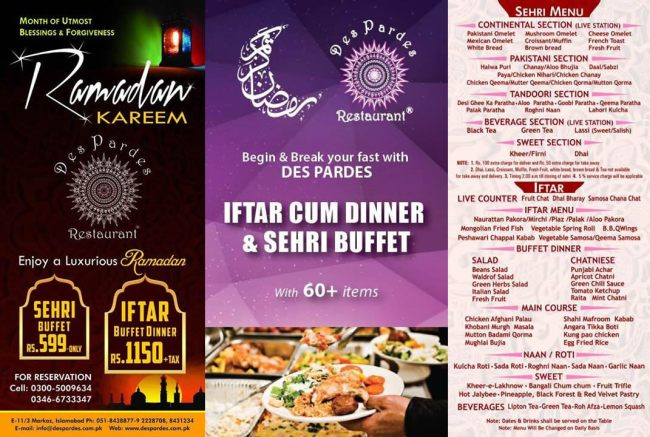 Des-Pardes-E11-Islamabad-Iftar-Buffet