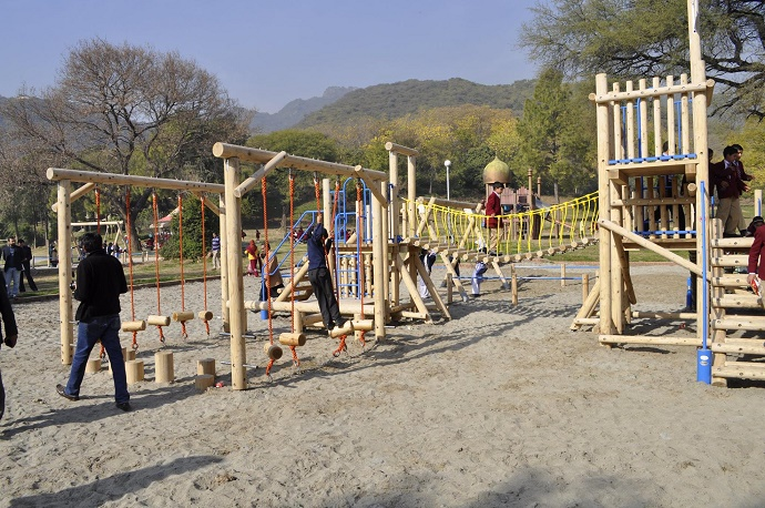 Renovated Japanese Park re-opened in Islamabad