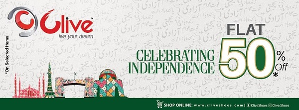 Clive Shoes Independence Day sale