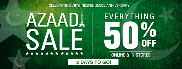 Unze London Independence Day sale