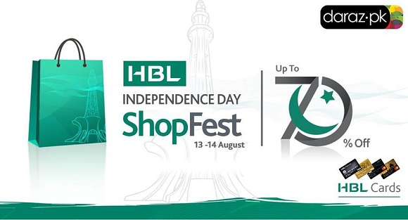 HBL Shopping Independence Day sale