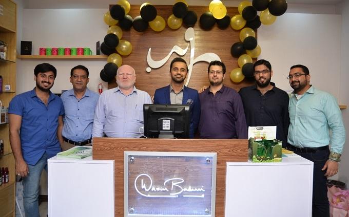 Waseem Badami launches organic beauty brand WB by Hemani in Islamabad