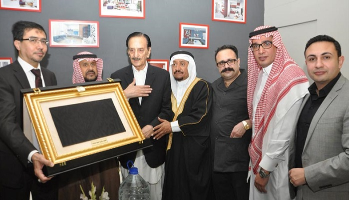 Exhibition of 'Ghilaf-e-Kaaba' continue in Islamabad Centaurus Mall