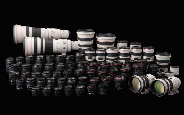 Serie objetivos Canon