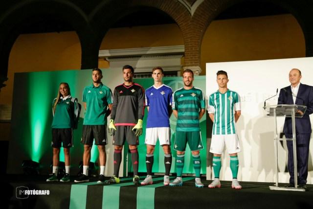 Presentación camisetas Real Betis 15/16