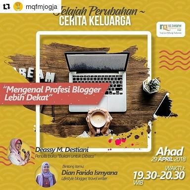 profesi blogger