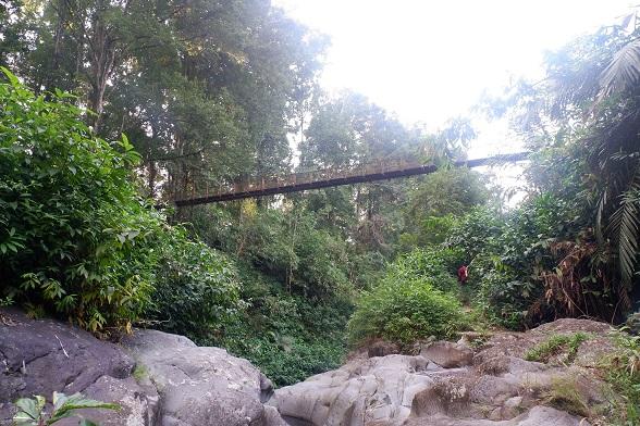 jalur trekking baturraden