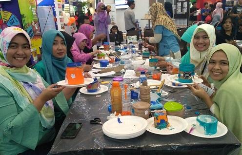 workshop menghias jar