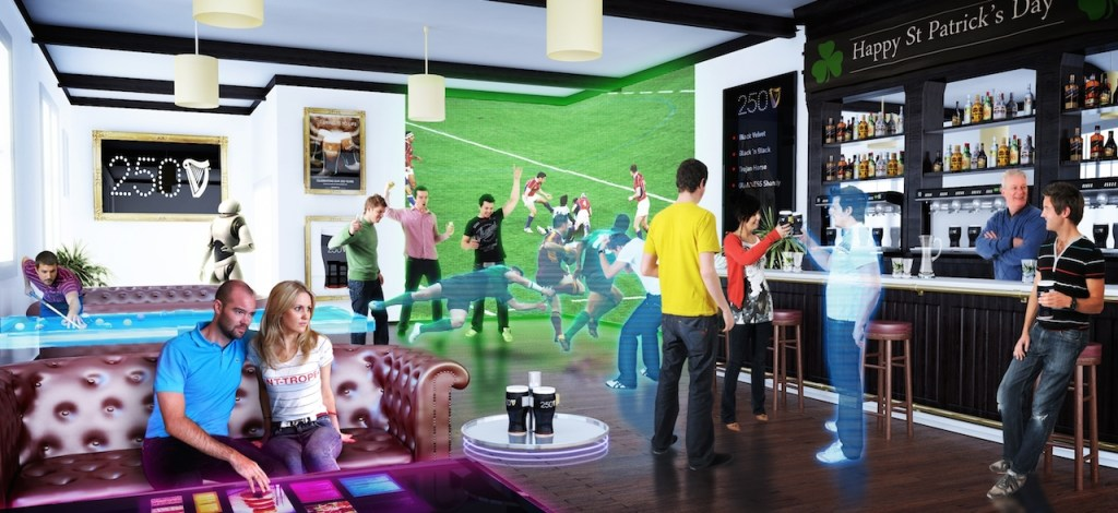 Guinness brings to life the pub of the future